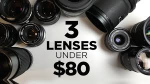 Affordable by 3 Affordable Lenses For Video Under 80 Each Youtube
