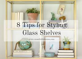 how to style glass bookshelves moonefield interiors