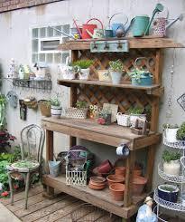 Plant Bench Plans - garden potting bench images u2013 outdoor decorations