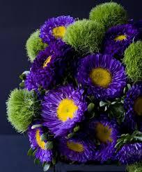 Amazing Flower Arrangements - 68 best matsumoto aster wedding flowers images on pinterest