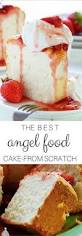 the best ever angel food cake recipe food cakes cakes and cream