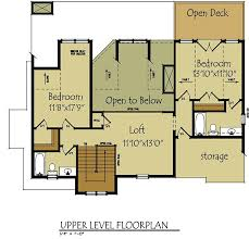 cottage floor plans small lake cottage floor plans upstairs floor plan with open loft