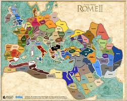 Rome On World Map Rome Total War 2 Map Google Search Random Pics Pinterest