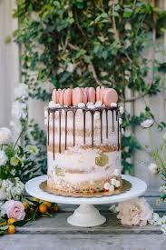 the hottest trend in wedding desserts drip cakes green wedding