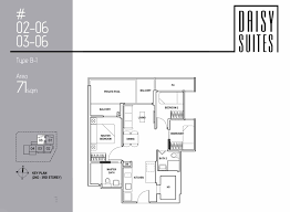 Floor Plan Layout Daisy Suites Freehold Stproperty Net