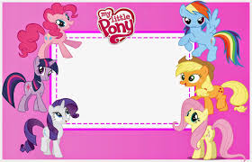 Make Birthday Invitation Cards Online For Free Printable My Little Pony Party Free Printable Invitations Is It For