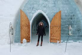 Hotel De Glace Braving The Canadian Winter At Hotel De Glace Twirl The Globe