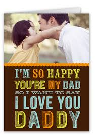 love you daddy 5x7 greeting card birthday cards shutterfly