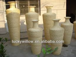 Wicker Vases Tall Wicker Flower Vase Flower Baske Buy Wicker Flower Vase