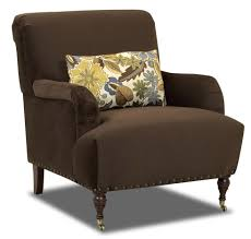 Traditional Accent Chair Traditional Accent Chair With Arms And Turned Legs With