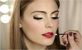 what makeup looks good with a red dress makeup vidalondon