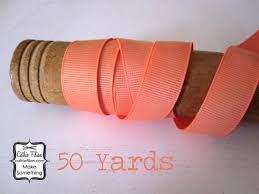 grosgrain ribbon bulk coral grosgrain ribbon 50 yards 5 8 inch wide invitation