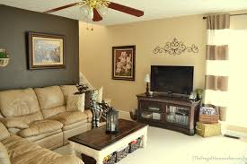 chocolate brown couch with paint colors for living room
