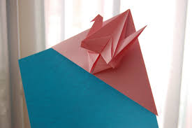paper peace crane bookmark origami youtube