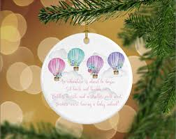 air balloon ornament etsy