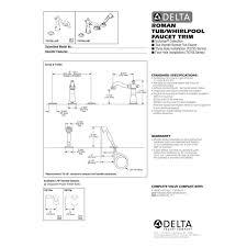 delta kitchen faucet repair kit instructions destroybmx com full size of kitchen delta roman tub faucet installation instructions delta single handle shower faucet repair