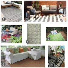 Pier 1 Outdoor Rugs by Indoor Outdoor Rugs I U0027m Loving It U2022 Sweet Parrish Place