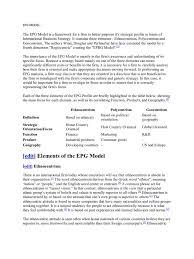 Management Consulting Resume Epg Model Economies Business