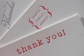 thank you card modern letterpress thank you cards paper thank you