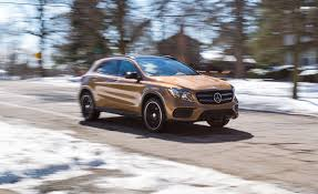 jeep mercedes 2018 2018 mercedes benz gla class in depth model review car and driver