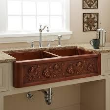 lovely copper kitchen sinks canada taste
