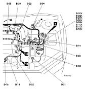 lancer evolution vii wiring diagram and electrical system 01
