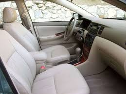 2003 Toyota Corolla Interior 2006 Toyota Corolla Pictures Including Interior And Exterior