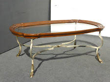 brass coffee table ebay