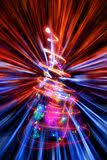 abstract christmas lights explosion stock illustration image