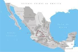 regions of mexico map bajío