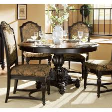 Dining Room Tables Decorations Elegant Classic Round Dining Room Table Design Ideas Picture