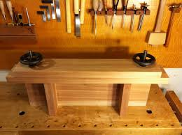 Woodworking Bench Top by Benchcrafted Moxon Vise W Benchtop Bench In Niangon By Andy