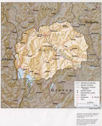 Yugoslavia Map Reisenett Former Yugoslav Republic Of Macedonia Maps