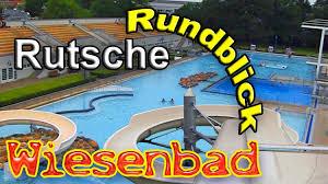 Bad Lippspringe Schwimmbad Bielefeld Wiesenbad Rutschbahn Rundblick Juni 2010 Youtube