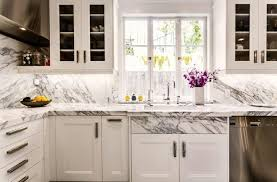 meubles cuisine ind endants plan de travail en marbre un dans la cuisine 2 stratifi effet blanc