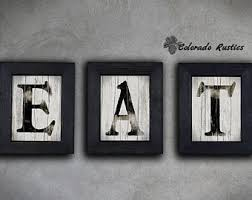 Kitchen Arts And Letters by Eat Letters Etsy