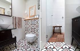 Small Apartment Bathroom Ideas Colors Colorful Renovation Brings Old World Charm To Small Tel Aviv Apartment