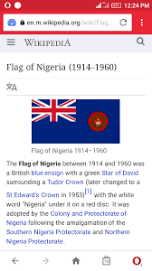 Colonial British Flag The Colonial Flag Of Nigeria Between 1914 1960 Photo Politics