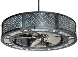 a 3 function piece fan lighting and decoration statement piece
