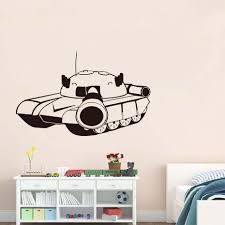 online get cheap military wall decals aliexpress com alibaba group free shipping wall stickers fashion style tank vinyl home decor adhesive military wall decals for living