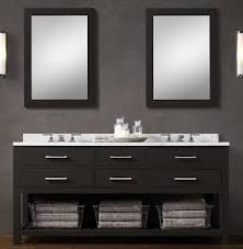 blk01 55 wooden bathroom vanity cabinet in black color from black