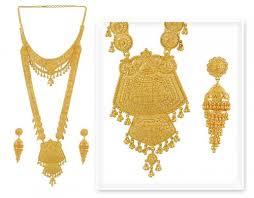 gold rani haar sets 22k gold rani haar ajns50769 22k gold indian bridal necklace