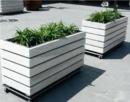 planters diy rectangular planter box large wall succulent letter