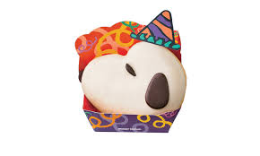 mister donut dresses doughnuts as snoopy for halloween the japan