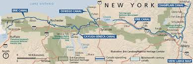 upstate ny map explore the central erie canal corridor discover upstate ny com