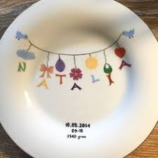 pewter birth plates personalized pewter baby plate baby baby plates and babies