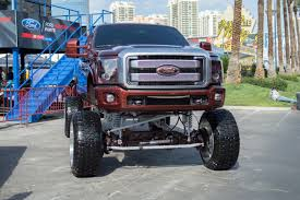 show me monster trucks skyjacked the ridiculous lifted pickup trucks and suvs of sema 2016
