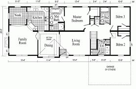 Ranch Style Log Home Floor Plans Apartments Open Floor Plans Ranch Open Floor Plan Ranch House