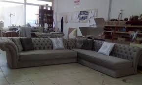 Chesterfield Corner Sofas Chesterfield Corner Sofa Fabric And Gray Perfectly Interior Design