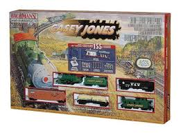 bachmann casey jones ho scale electric set 00617 ebay